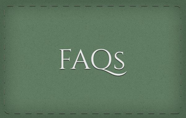 Link to FAQ videos