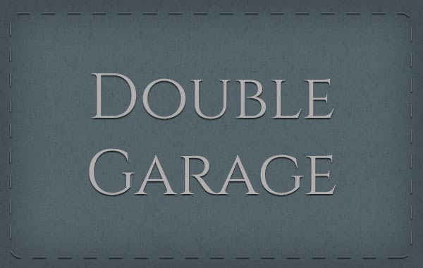 Double Garage page link