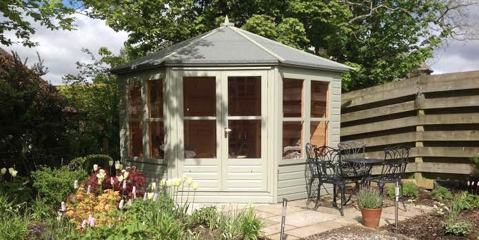 Pitched Corner Deuchny Summerhouse by Gillies & Mackay